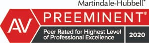 AV Preeminent 2020 Rating